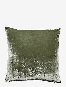 Plain decorative cushion - pudebetræk - green shade