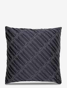 Silk satin Cushion cover - kussenovertrekken - black grey