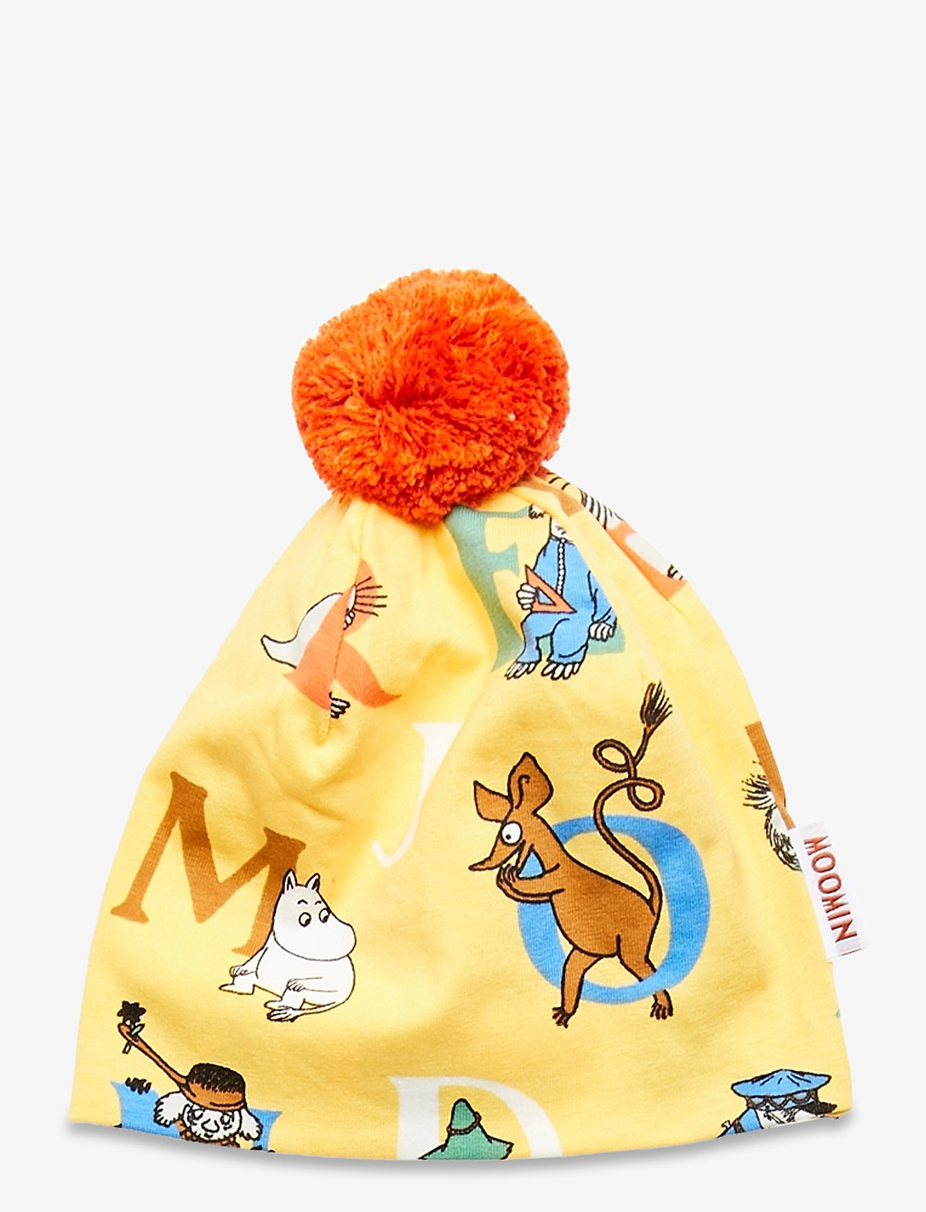 Martinex - ALPHABET BEANIE - hatte og handsker - yellow - 1