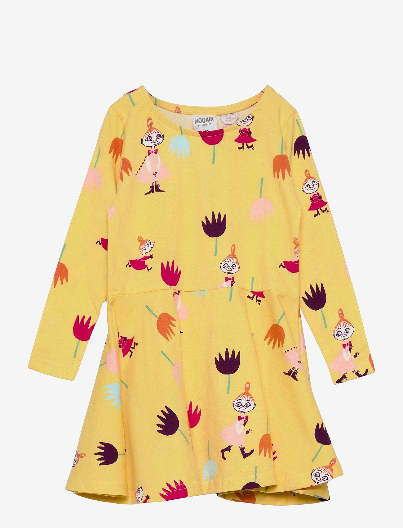 Martinex - TULIPS DRESS - kleider - yellow - 0