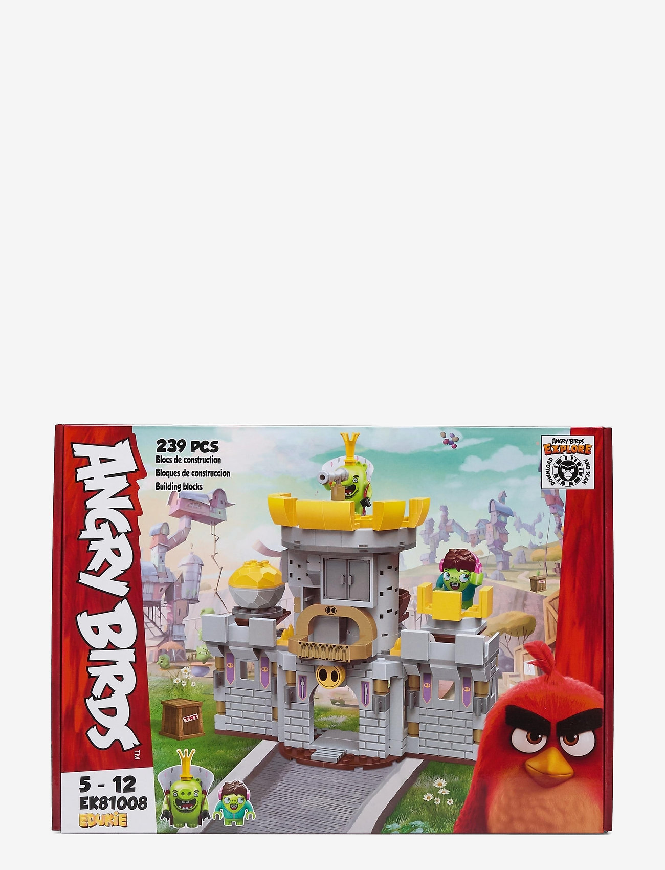 ANGRY BIRDS PIG CASTLE