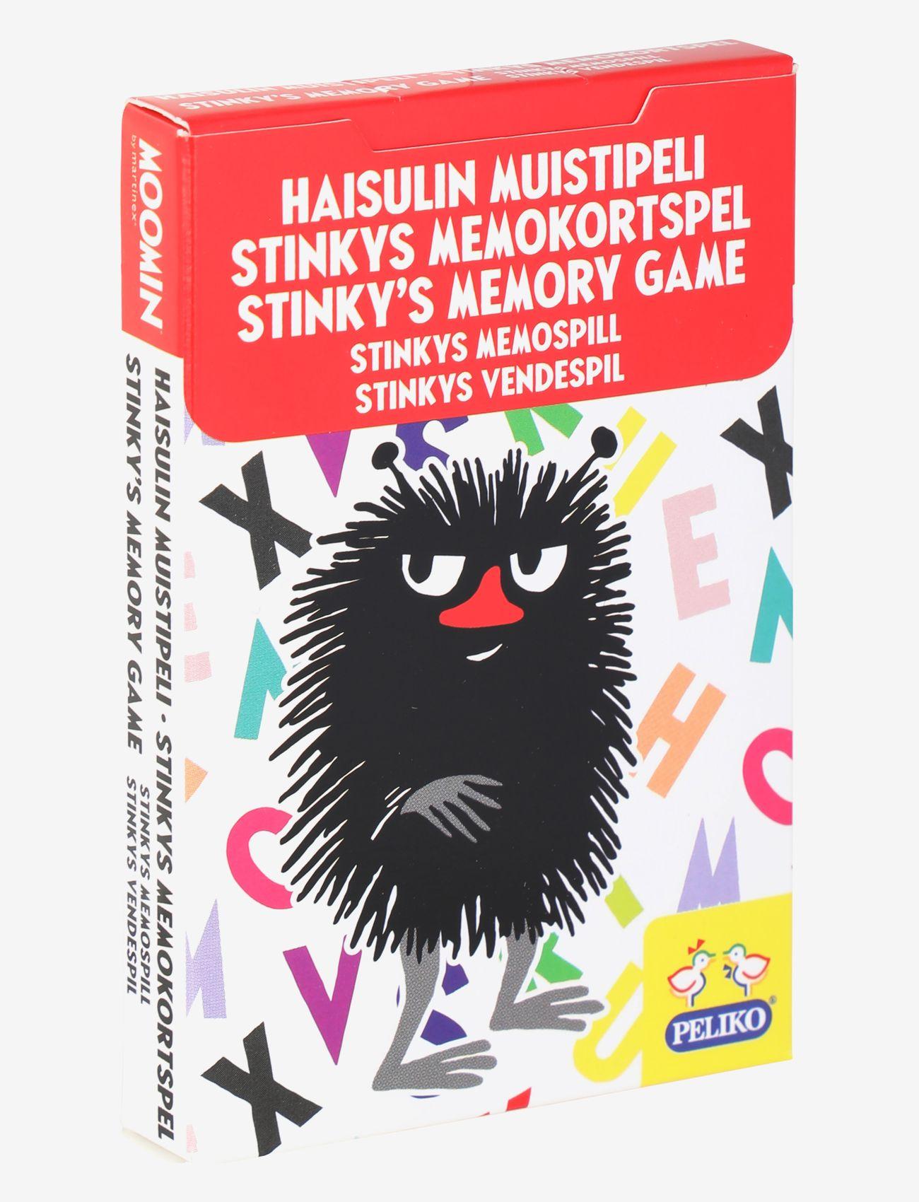 STINKY'S MEMO CARD GAME