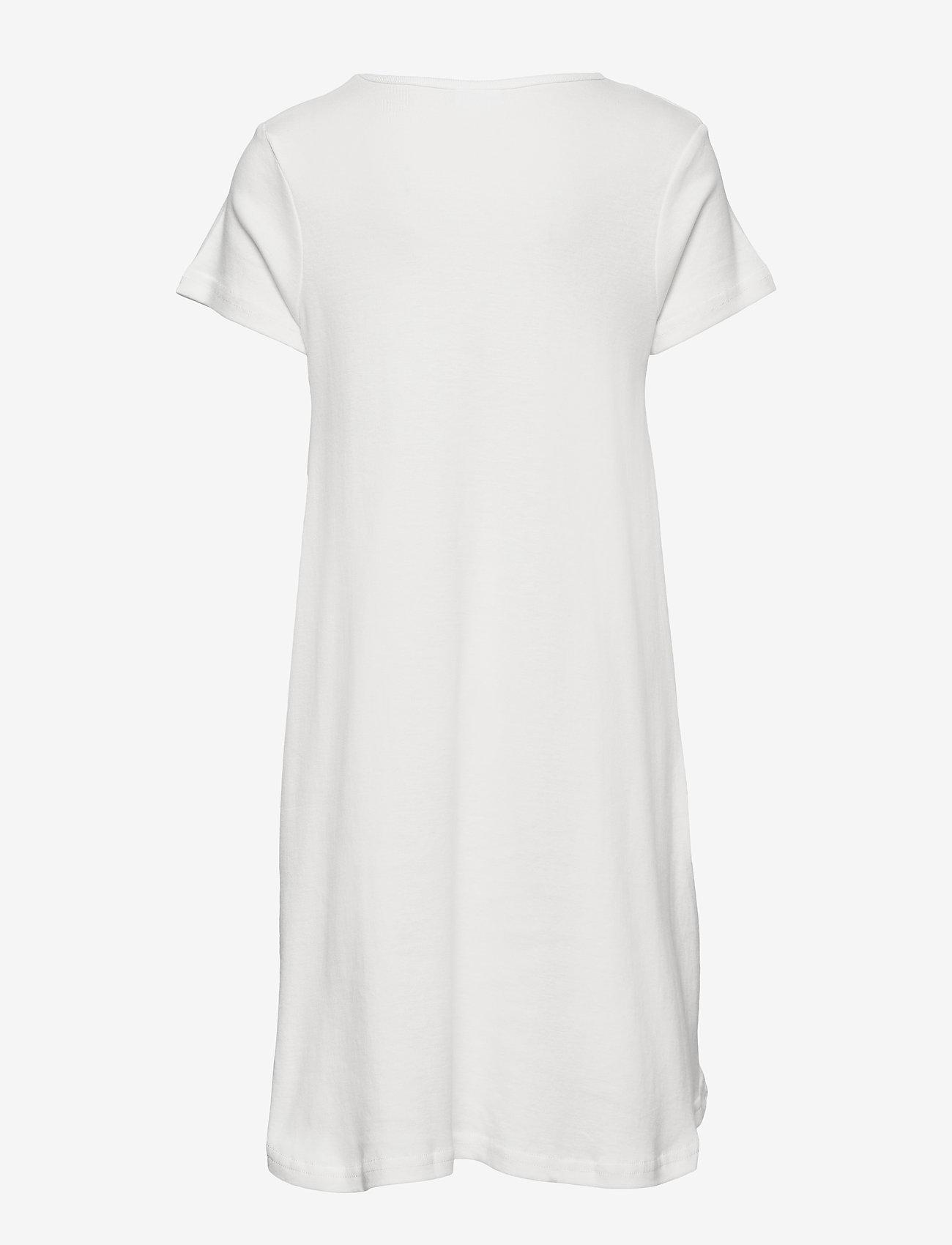 Martinex - PIPPI HUGS NIGHTGOWN - nat- & undertøj - white - 1