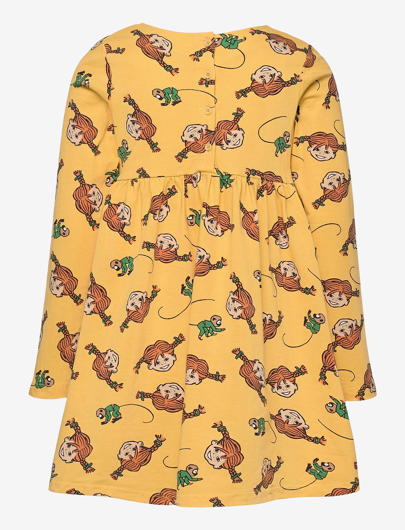 Martinex - PLAITS DRESS - kleider - yellow - 1
