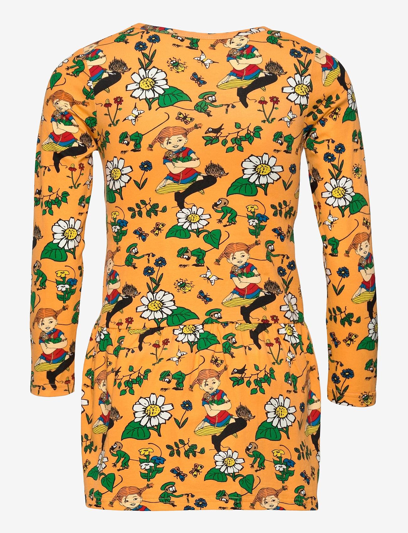 Martinex - OXEYE DAISY DRESS - kleider - orange - 1