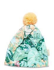 LEAFY BEANIE - GREEN