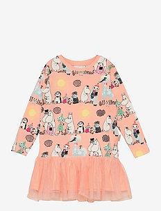 SUMMER DAY DRESS - kleider - orange