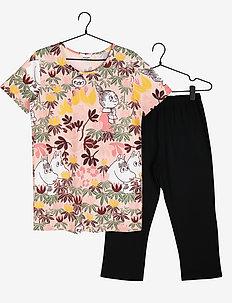 CAPRIPYJAMAS FOLIAGE SS - pyjamas - pink