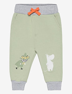 MOOMIN PANTS BABY - sweatpants - green