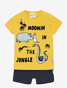 MOOMIN SHORTS SET - sæt - yellow