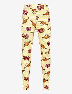 PIPPI & FLOWERS LEGGINGS - leggings - yellow