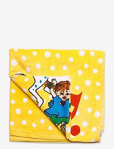 STRONGEST TOWEL - badshorts - yellow