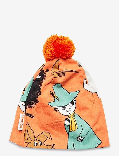 GUARD TURN BEANIE - hatte og handsker - orange
