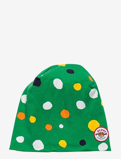 SPECKLED BEANIE - hatte og handsker - green