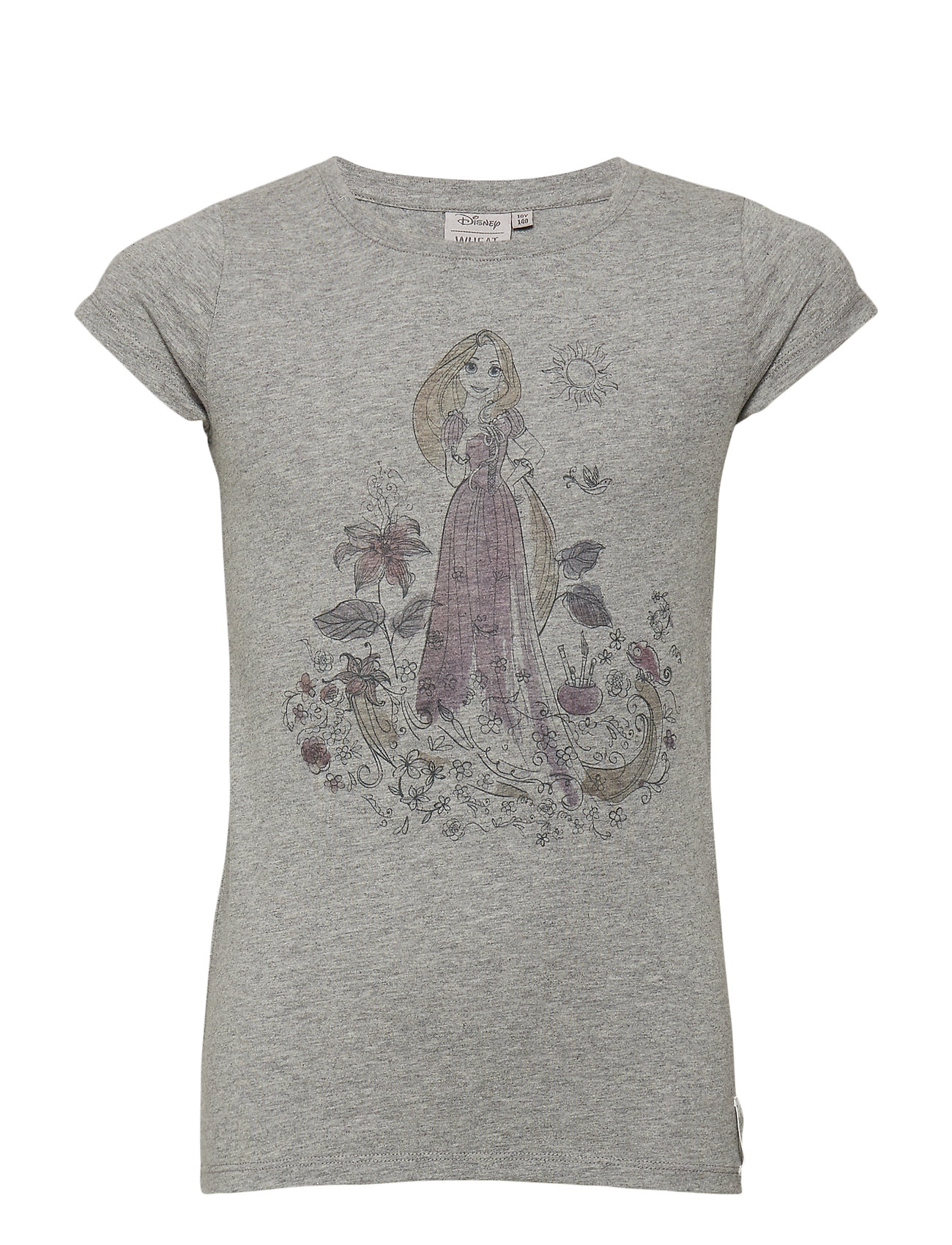 73b924e27 ... t shirt rapunzel melange grey 18 85 disney by wheat boozt com ...
