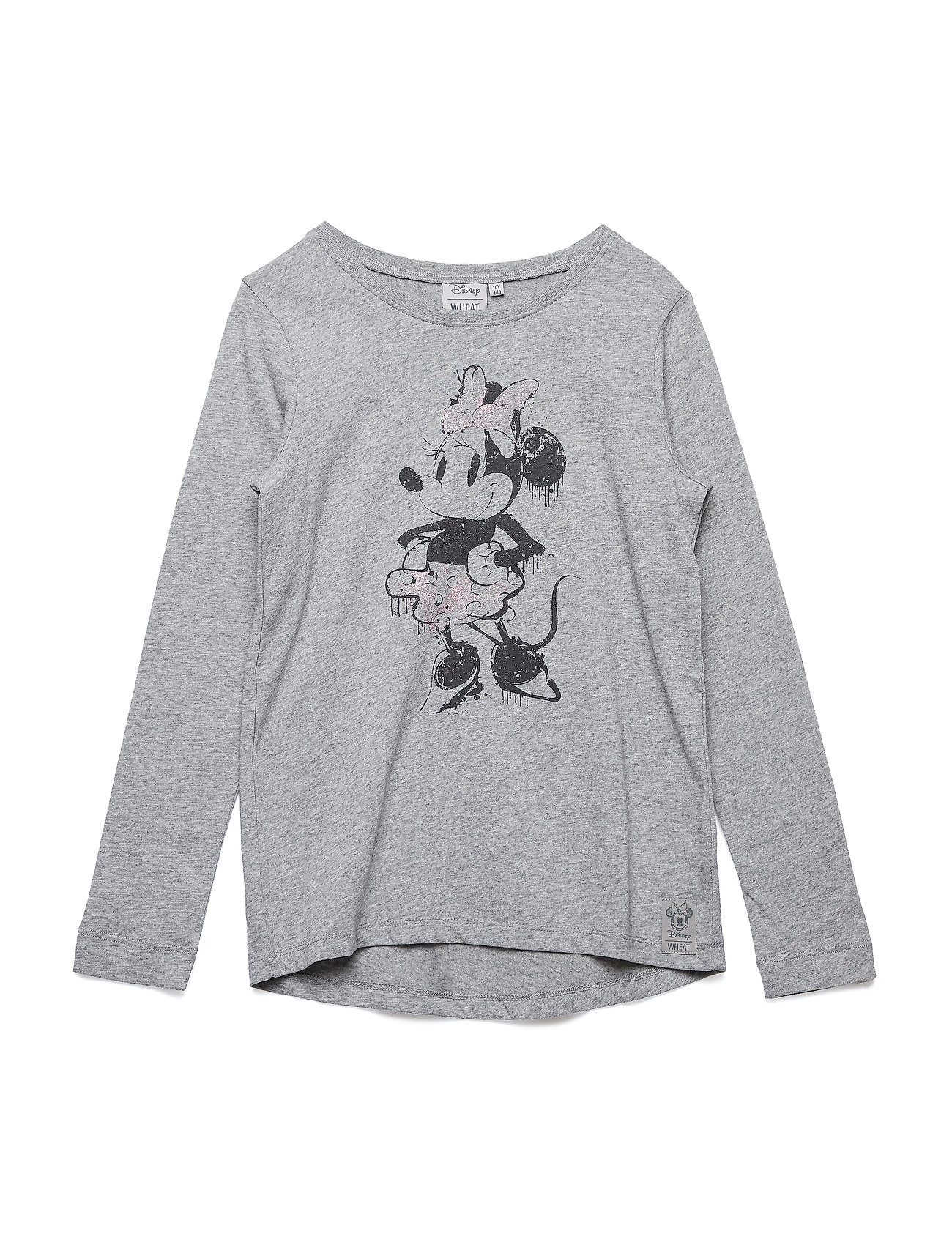 Disney by Wheat T-Shirt Minnie Ink - MELANGE GREY