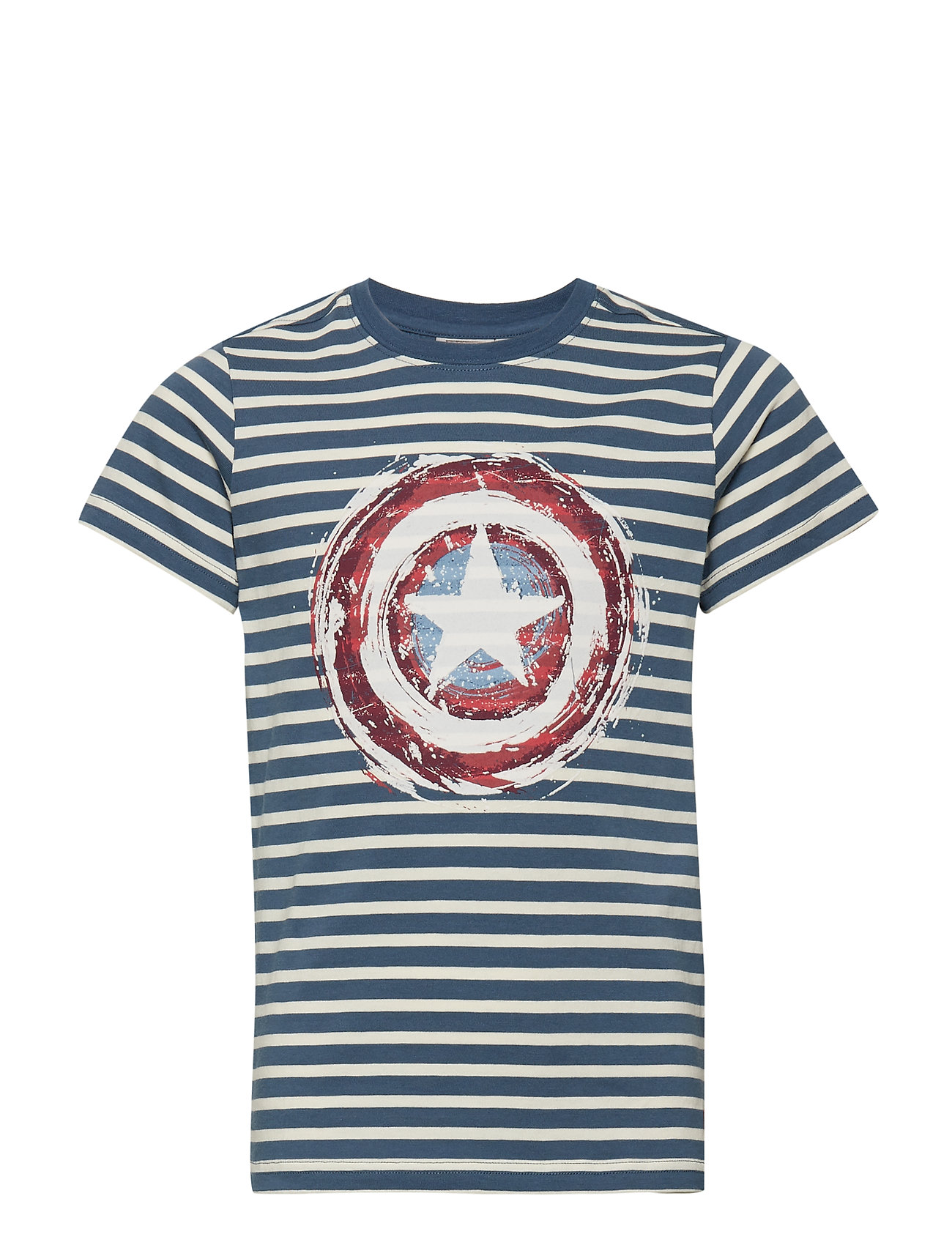 Disney by Wheat T-Shirt Captain A Shield - BERING SEA