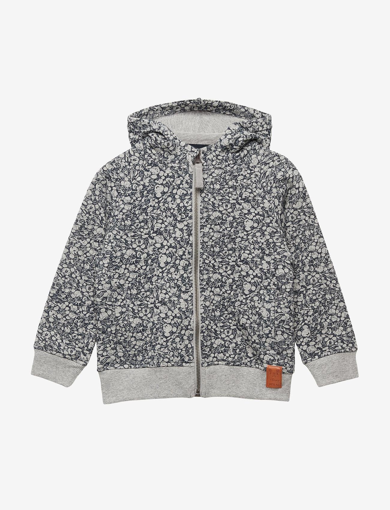 Disney by Wheat - Sweatshirt Zip Mickey - hoodies - navy