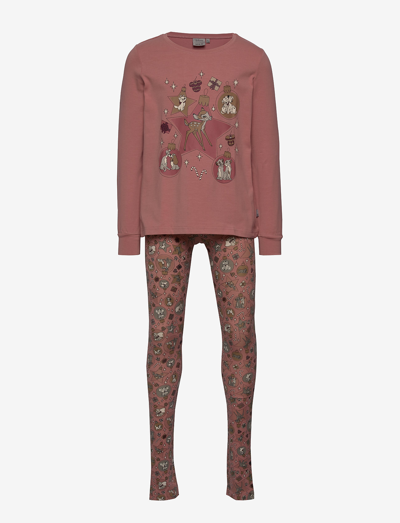 Disney by Wheat - Girl Nightwear Disney X-Mas - pyjamas - soft rouge - 0