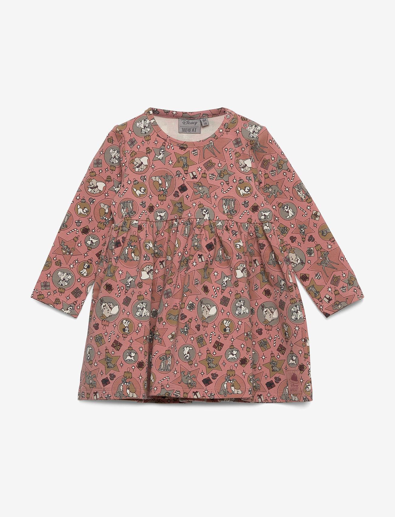 Disney by Wheat - Jersey Dress Disney X-Mas - jurken - soft rouge - 0