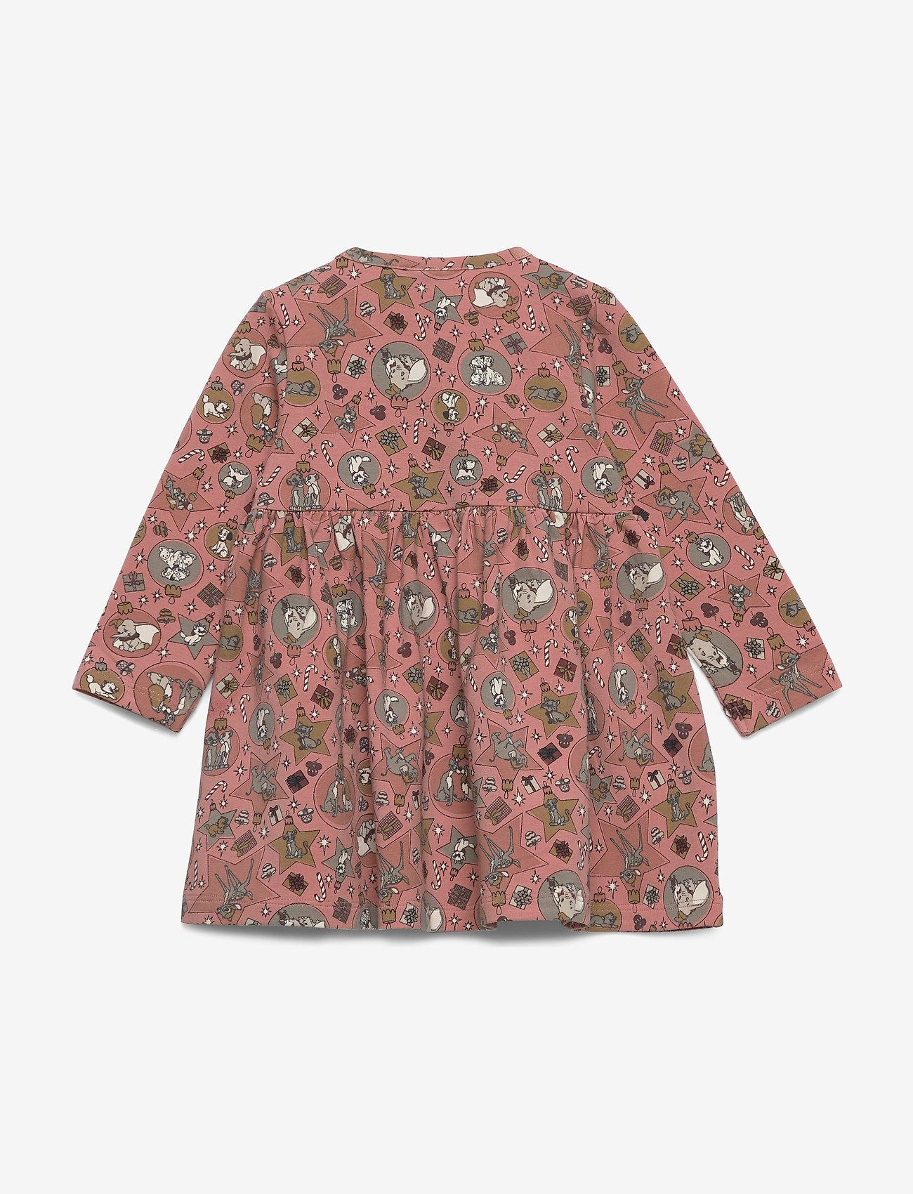 Disney by Wheat - Jersey Dress Disney X-Mas - jurken - soft rouge - 1