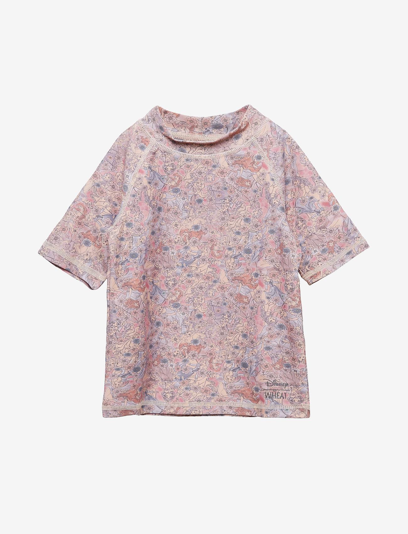 Disney by Wheat - Swim T-Shirt Princesses SS - koszulki - powder - 0