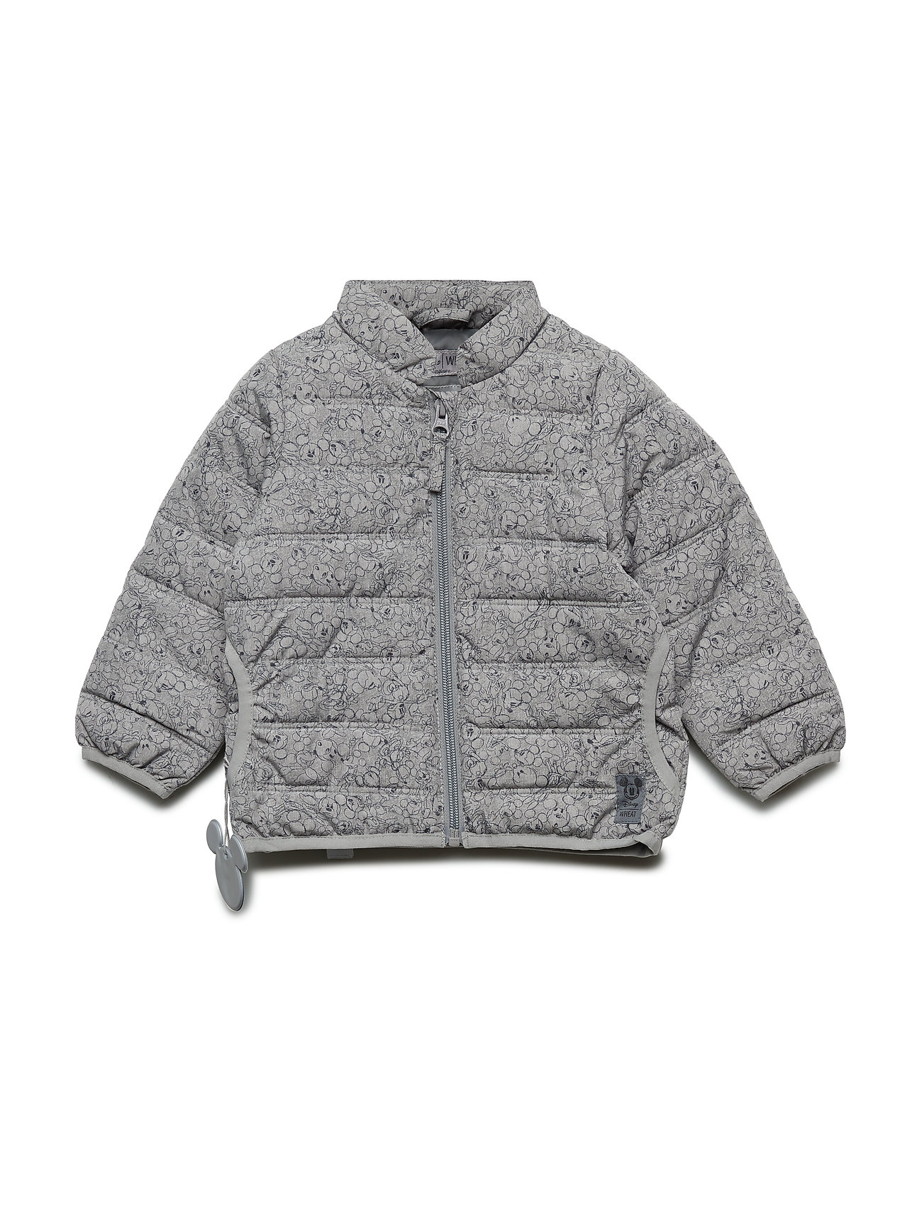 Disney by Wheat Jacket Mickey Faces - GREY