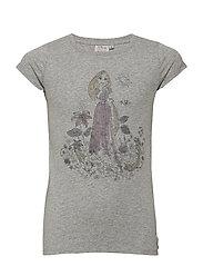 T-Shirt Rapunzel - MELANGE GREY