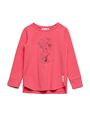 T-Shirt Minnie Glitter - CLARET RED
