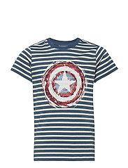 T-Shirt Captain A Shield - BERING SEA