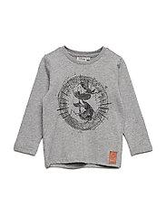 T-Shirt Donald Duck - MELANGE GREY