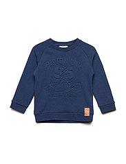 Sweatshirt Cars - BLUE DENIM