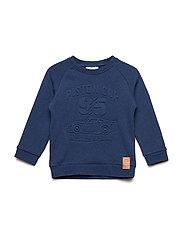 Sweatshirt Cars - BLUE DENIM
