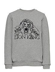 Sweatshirt Lion King - MELANGE GREY