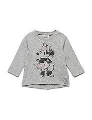 T-Shirt Minnie Ink - MELANGE GREY