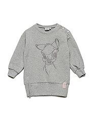 Sweatshirt Sparkling Bambi - MELANGE GREY