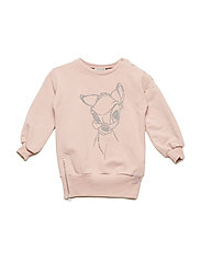 Sweatshirt Sparkling Bambi - ROSE POWDER