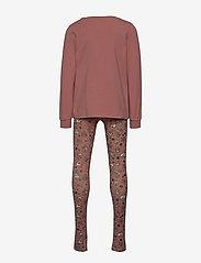 Disney by Wheat - Girl Nightwear Disney X-Mas - pyjamas - soft rouge - 1