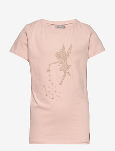 T-Shirt Tinker Bell Stardust - logo - powder
