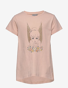 T-Shirt Tinker Bell Golden Wings - short-sleeved - powder