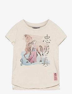 T-Shirt Mulan Horse - t-shirts - ivory