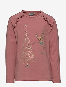 T-Shirt X-mas Tinker - langärmelig - soft rouge