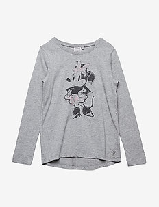 T-Shirt Minnie Ink - MELANGE GREY