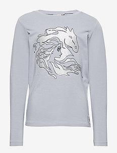 T-Shirt Elsa Horse - cartoon - dove