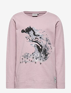 T-Shirt Elsa Glitter - cartoon - dusty lavender