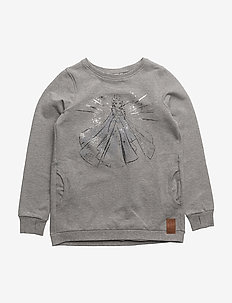 Sweatshirt Elsa Ice - svetarit - melange grey