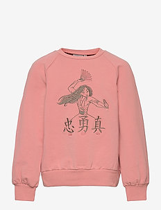 Sweatshirt Mulan Embroidery - sweatshirts - rosie