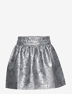 Jacquard Skirt Frozen - jupes - dove