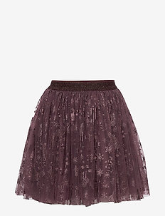 Tulle Skirt Frozen - jupes - soft eggplant