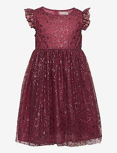 Tulle Dress Mickey X-mas - robes - mickey burgundy